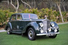 Rolls-Royce Silver Dawn and Silver Wraith Bentley MkVI & R Type
