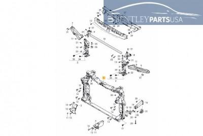 Bentley Bentayga Radiator Support