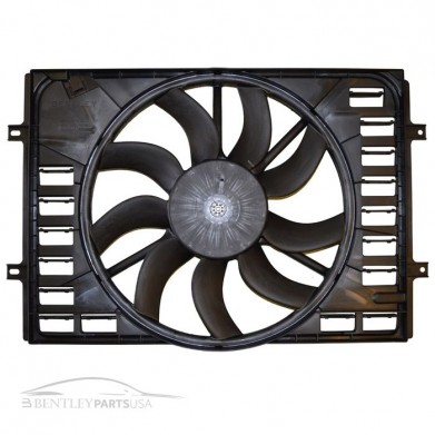 Bentley Continental Radiator Single Fan Pack 3W0121205E
