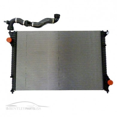 Bentley Continental W12 Coolant Radiator 3W0198115J