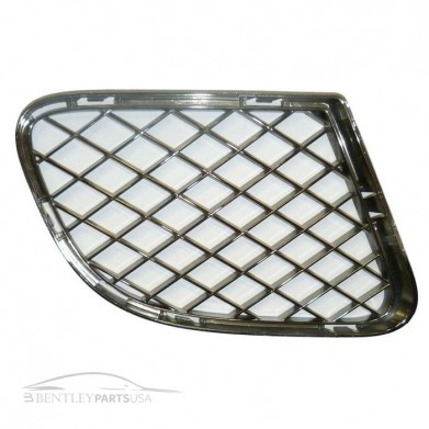 Bentley Gt Gtc Speed Bumper Chrome Grill - Right Side