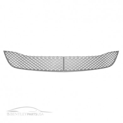 Bentley Gt Gtc Speed Center Bumper Chrome Grill