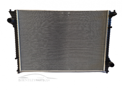 Bentley Continental W12 Coolant Radiator 3W0198115G