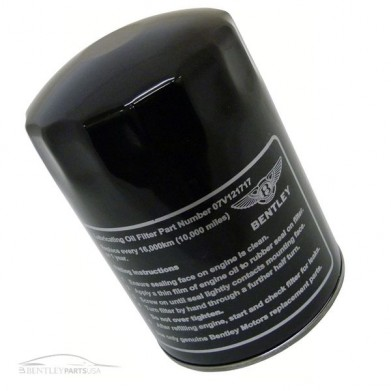 Bentley Mulsanne Oil Filter 07V121717A