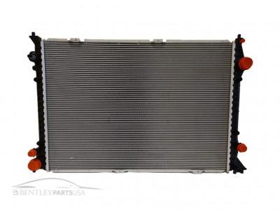 Bentley Gt v8 coolant radiator 3w0121253d